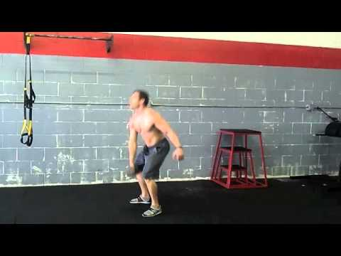 FreeFitnessVideos.com: Dumbbell Single Arm Clean and Jerk