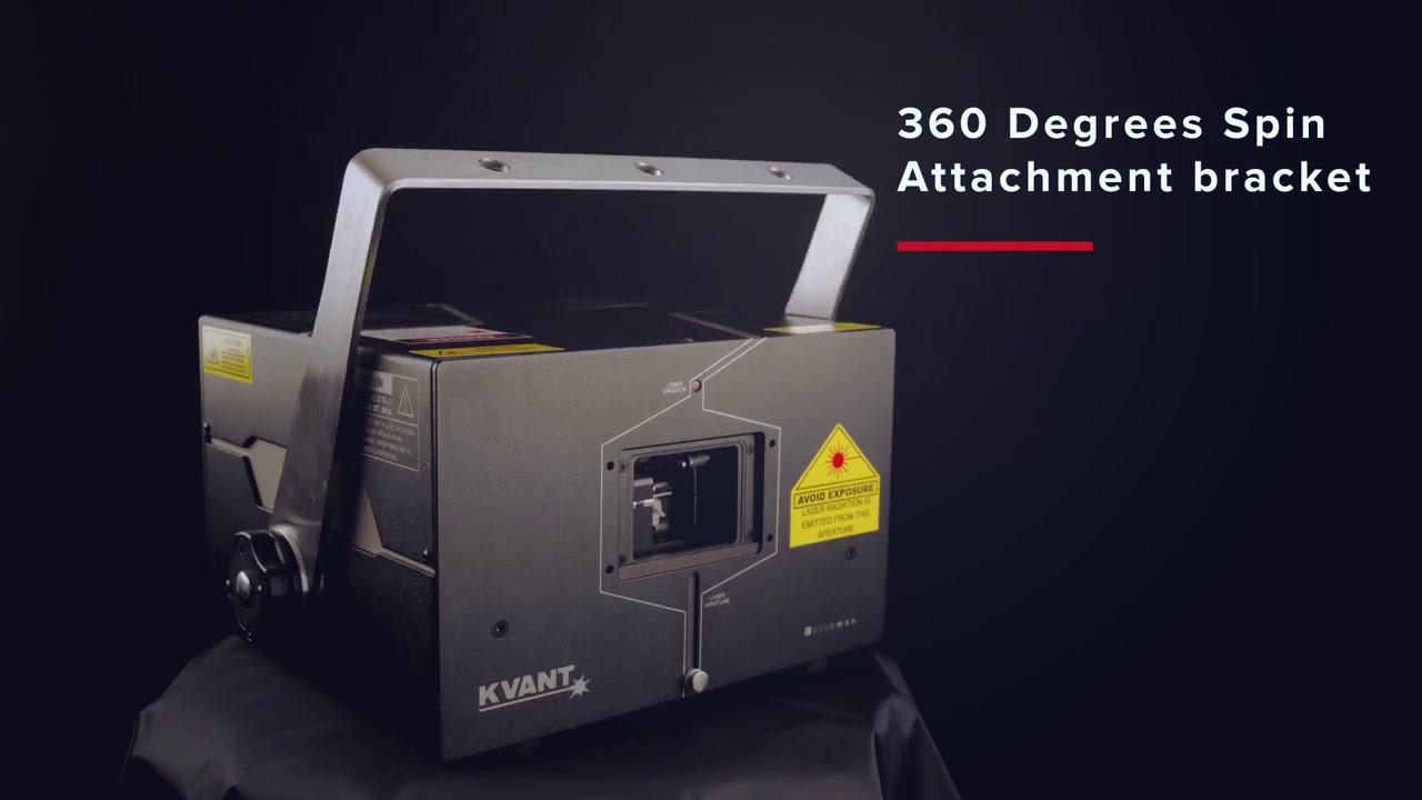 Die neuen Kvant ClubMax Laser mit integriertem Flashback 4