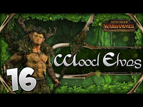 FALL OF THE KNIGHTS! Total War: Warhammer - Wood Elves Campaign #16