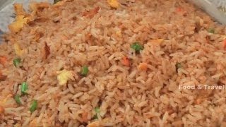 Egg Fried Rice |  Street Food Fast Food In India
