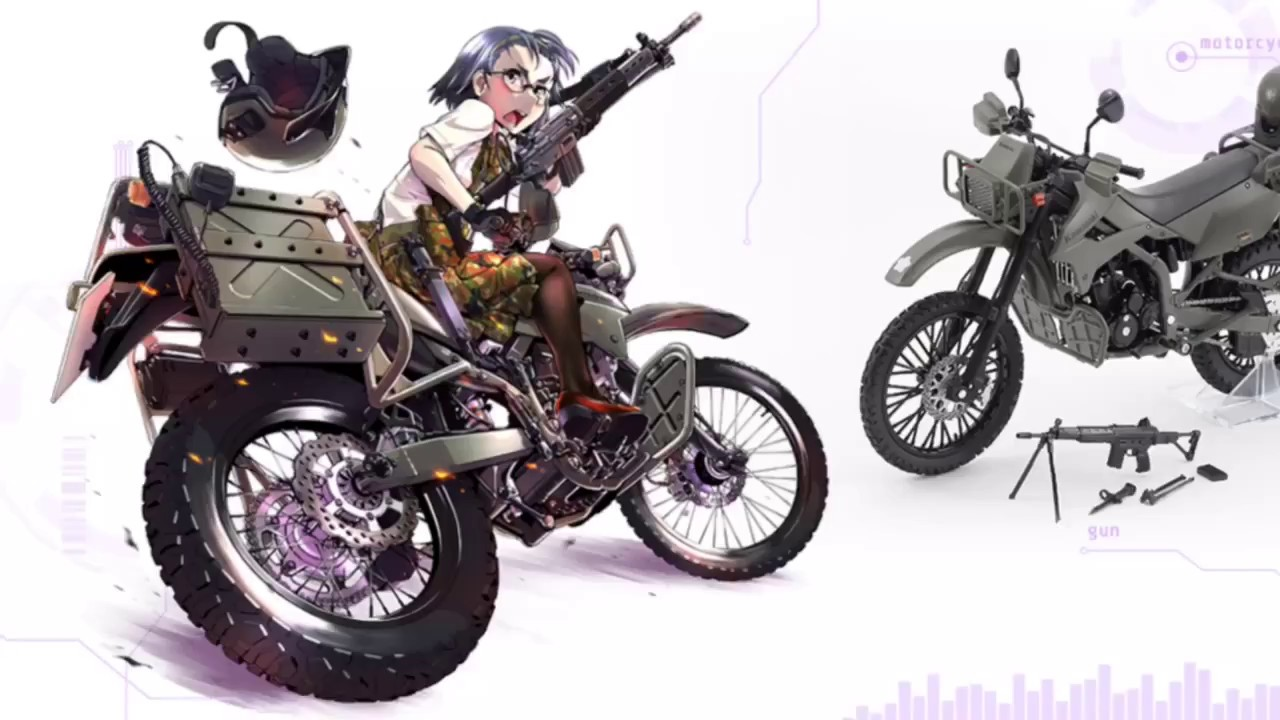 リトルアーモリー】[LM002] 陸上自衛隊偵察オートバイ DX版 - YouTube