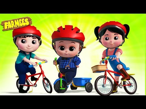 Let's Ride a Bicycle   Baby Music   Nursery Rhymes & Songs for Kids thumbnail