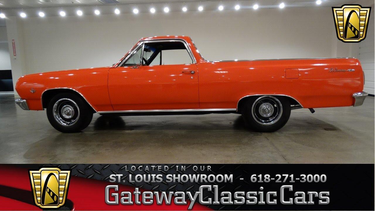 medium resolution of 1965 chevrolet el camino gateway classic cars st louis 6475 youtube