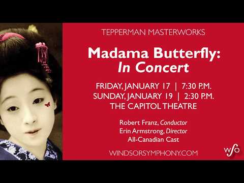 WSO Madama Butterfly: In Concert