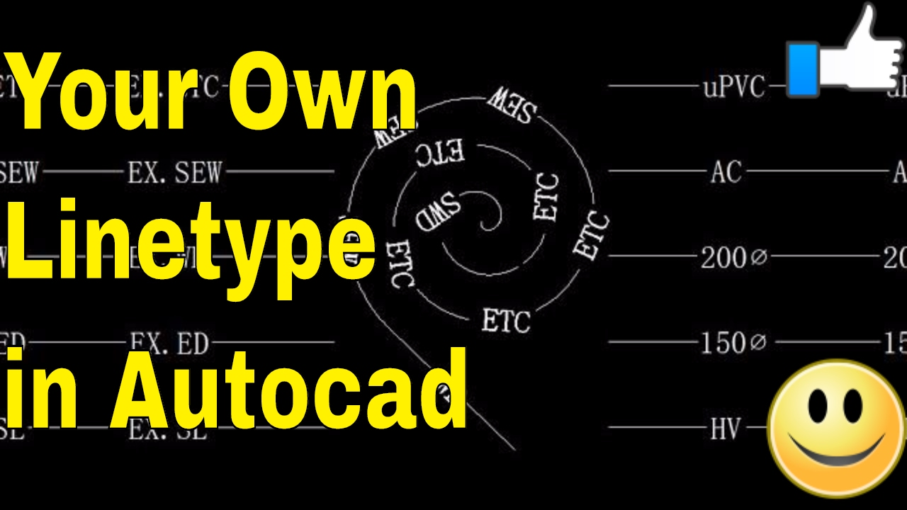 AutoCAD- How to Make A Custom Linetype in AutoCAD - AutoCAD Online Tutorial Classes