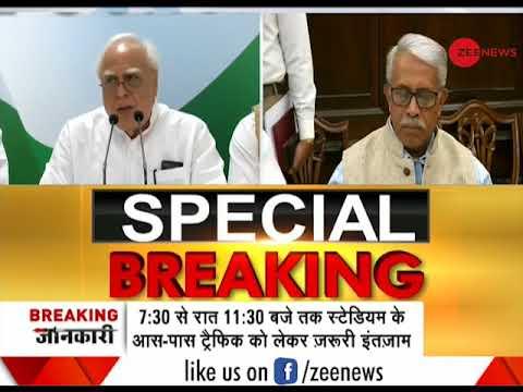 Watch Kapil Sibal speak after Vice President rejected impeachment motion against CJI Dipak Misra
