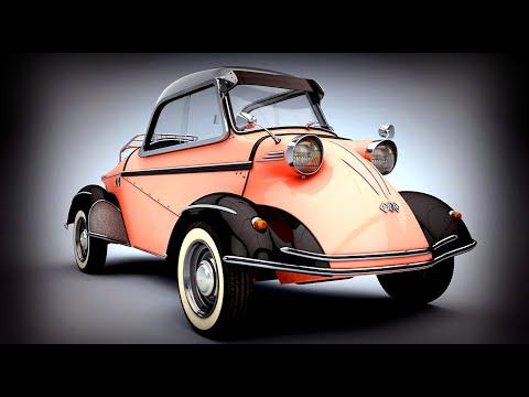 Fun, Funky, & Rare Micro Cars! Vintage Mini Cars! World's Smallest Sexiest Cars! Carros Clássicos!