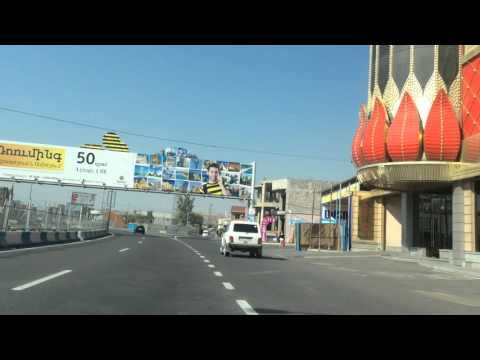 Yerevan, 21.10.15,  Video-2, France pl. - Ejmiatsin