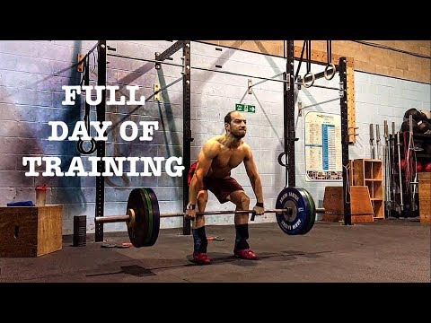 Block Clean, Power Clean, Clean Pull, Good Morning - Olympic Weightlifting Training Vlog │Jan 2019
