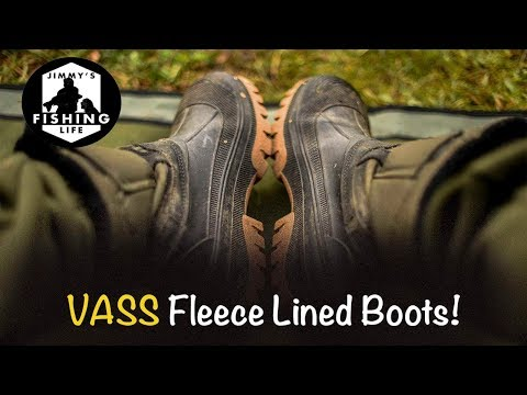 ***Carp Fishing Review*** Vass Thermal Boots