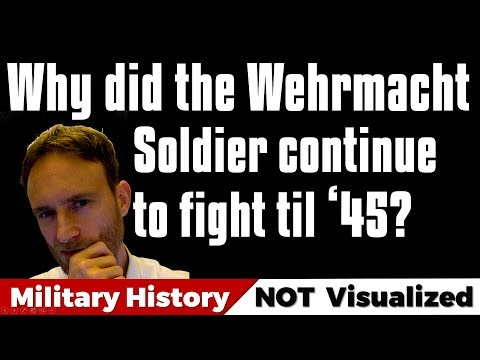 Why did the Wehrmacht Soldier keep fighting til 1945? #wehrmacht #ww2