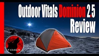 The Price is Right - Outdoor Vitals Dominion 2.5 Person Tent