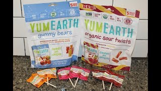 YumEarth Organic: Gummy Bears, Sour Twists & Lollipops Review