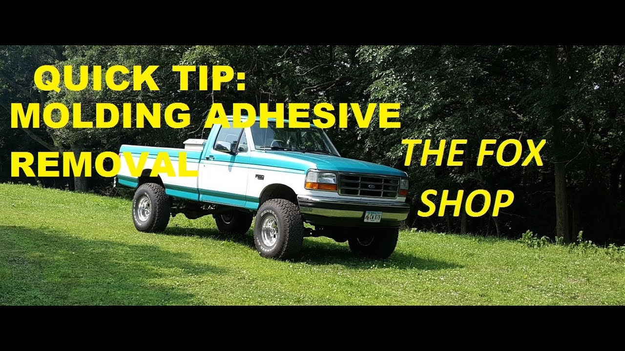 How to remove molding from a truck - How To Remove Automotive Molding Adhesive