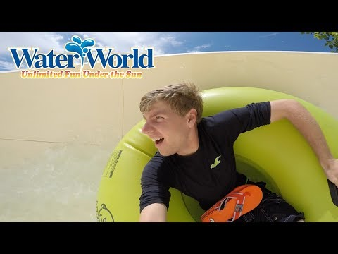 A Splashtastic day at Water World in Denver Colorado!
