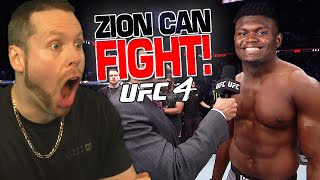 Zion Williamson has joined the UFC