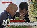 24 Oras: Pangulong Duterte, nakiramay at nagbigay ng tulong sa naulilang padre de pamilya
