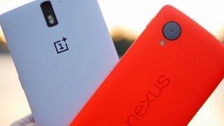 Nexus 5 vs OnePlus One in Depth Comparison in 4K!