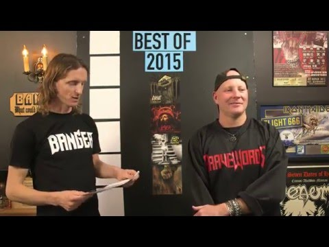 LOCK HORNS   Best Metal Albums of 2015 w guest Tim Henderson of BraveWords (Live Stream Archive)