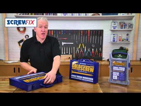 Screwfix - Goldscrew Plus Woodscrews