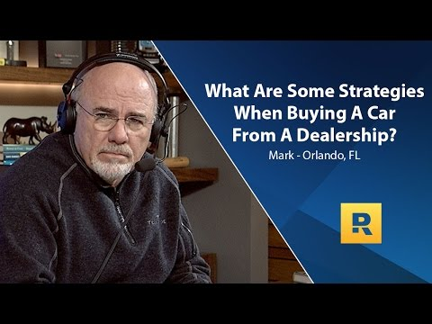 Thumbnail: What Are Some Strategies To Buying A Car From A Dealership?