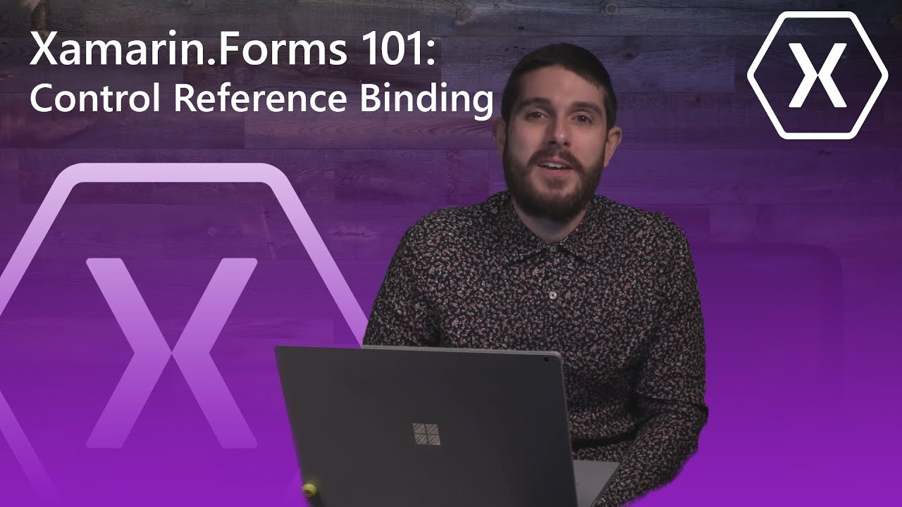 Xamarin Forms 101: Control Reference Binding (View-to-View)