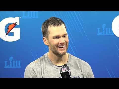 Tom Brady Super Bowl 53 Postgame, Patriots vs. Rams Press Conference