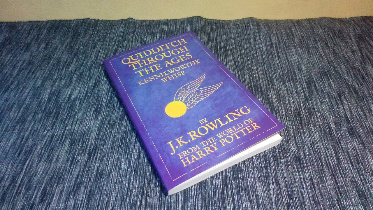 Harry Potter Book Unboxing : Harry potter quidditch through the ages book review