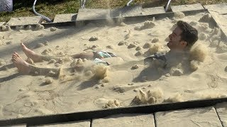 One of Jordan Maron's most viewed videos: World's largest dry liquid sand pit
