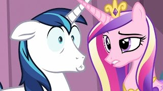 Shining & Cadance - I chose the guard, purity crystal and crystaller. All we need is... The baby?