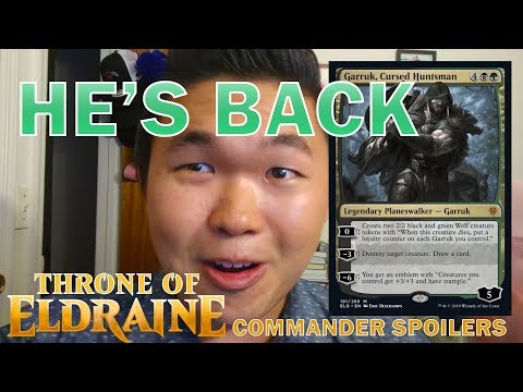 THRONE OF ELDRAINE gives your Magic Commander decks so many