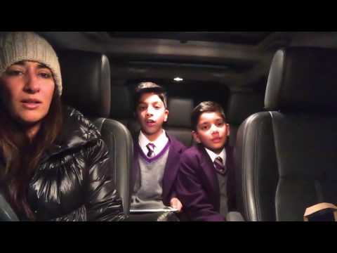 "Our First 'Carpool Nasheed' | Singing Maher Zain's ""Peace be upon you"" 