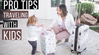 TRAVELING WITH KIDS/ 10 PRO Tips for Moms TRAVEL | COLLAB | The Fife Life & The Sweetest Little Life Video