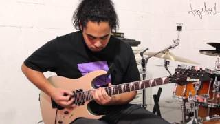 Dream Theater - The Ytse Jam By Angelo Santos (Full Guitar Cover)