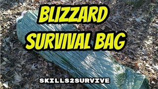 BLIZZARD SURVIVAL SLEEPING BAG: Review and Test