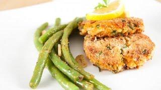 Рыбные котлеты с зеленью и шпинатом