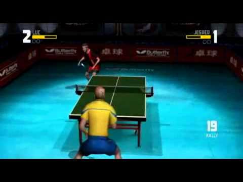 Rockstar Games presents Table Tennis - Wii Gameplay - 10-16-07