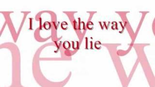 Eminem ft. Rihanna  Love the way you lie !Lyrics!