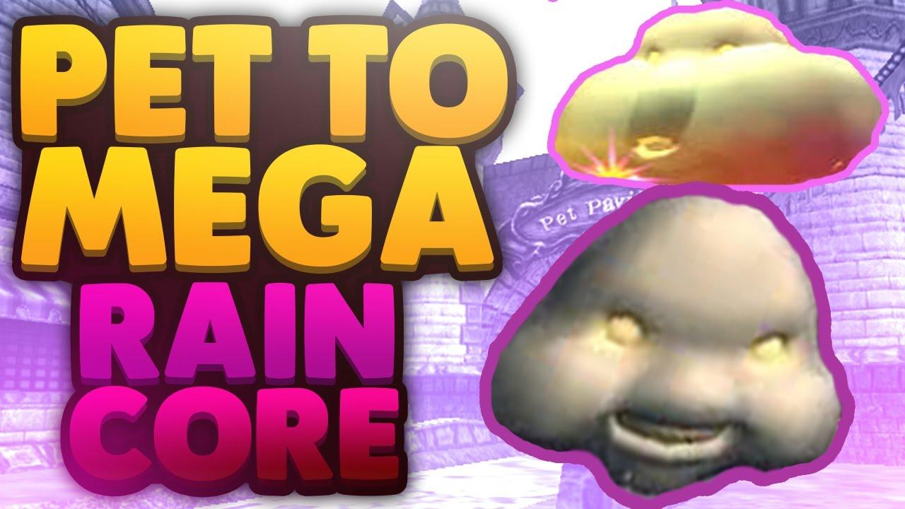 Wizard101 Pets: Baby To Mega (New Rain Core Pet) 1st Gen Talents!