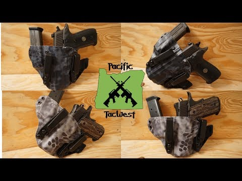 Black Rhino Concealment Herrin Holster Review: Kydex AIWB Holster