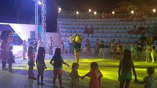 Детская анимация в отеле Titanic Palace Вика на дискотеке в Египте 2021