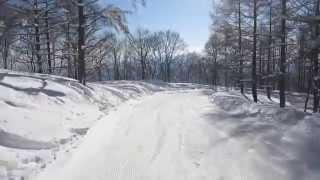 鹿島槍スキー場20150124
