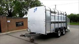 IFOR WILLIAMS LIVE STOCK BOX 12FT WALKROUND VIDEO