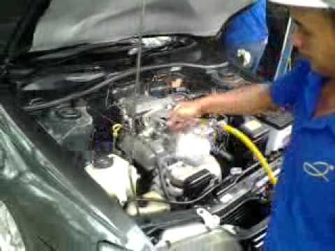 Jaya carwash 010 Memberi Silikon Di Mesin mobil. By Budi ( Tulang ...