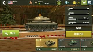 War Machines: Best Free Online War & Military Gameplay!!!   AllTank.. screenshot 2
