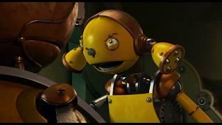 В магазине запчастей. Роботы (2005).