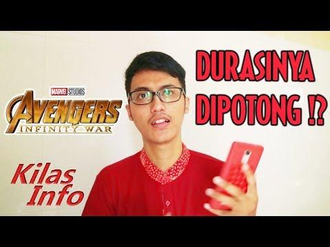 Durasi Avengers Infinity War Dipotong di Indonesia ? 😱