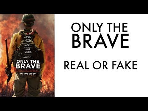ONLY THE BRAVE - Official Review - Granite Mountain Hotshots