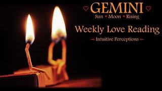 GEMINI - AUGUST 12-18 2018 LOVE TAROT READING