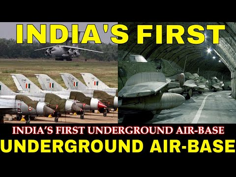 India's first underground air base in Rajasthan